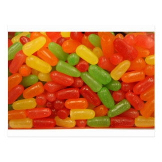 Colorful Candy Pills Post Cards