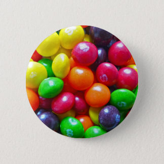 Colorful Candy Pinback Button