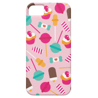 Colorful candy popsicle birthday cupcake theme iPhone SE/5/5s case