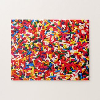 Colorful Candy Sprinkles Jigsaw Puzzle puzzle