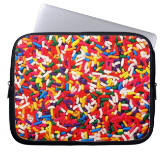 Colorful Candy Sprinkles Laptop Computer Sleeve