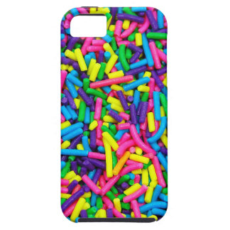 Colorful candy sprinkles print iPhone SE/5/5s case