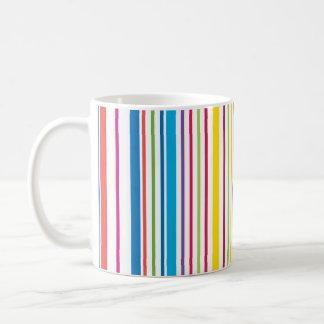 Colorful Candy Stripes Coffee Mug