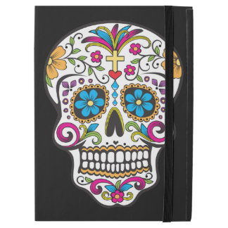 Colorful Candy Sugar Skull iPad Pro Case