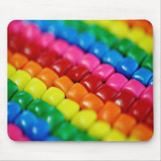 Colorful Candy Tabs Mouse Pad