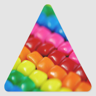 Colorful Candy Tabs Triangle Sticker