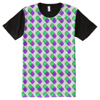 Colorful Capsules Repeating Pattern – GPB All-Over-Print Shirt