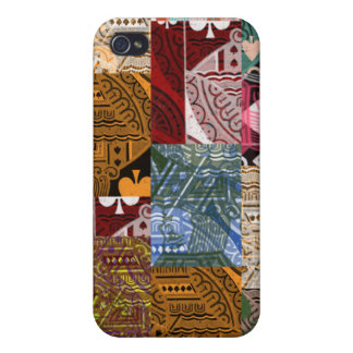 'Colorful Cards' art Case Cover For iPhone 4