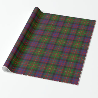 Colorful Carnegie Tartan Plaid Wrapping Paper