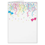 Colorful Carnival Greeting Card