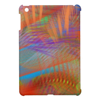 Colorful Carnival Lights Abstract Case For The iPad Mini