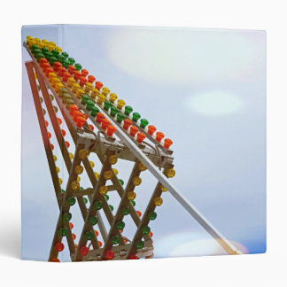 Colorful Carnival Sizzler Ride Lights and Skyline Binder
