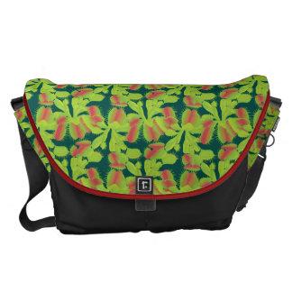 Colorful Carnivorous Venus Flytrap Messenger Bag