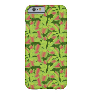 Colorful Carnivorous Venus Flytrap Pattern Barely There iPhone 6 Case