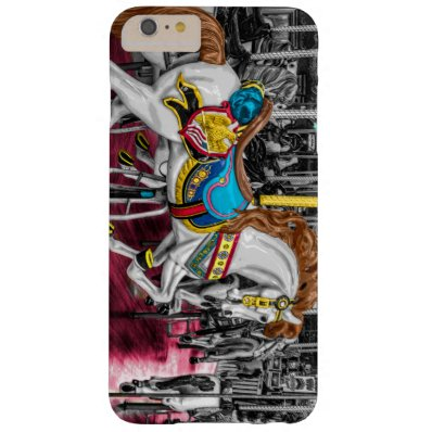 Colorful Carousel Horse at Carnival Barely There iPhone 6 Plus Case