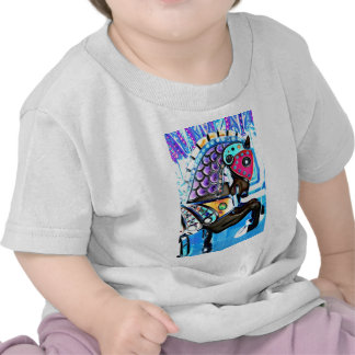 Colorful Carousel Horse Shirts