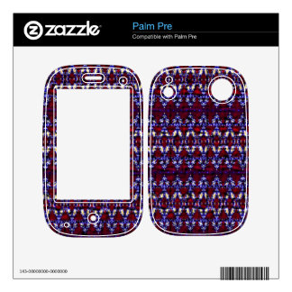 Colorful carpet pattern skins for the palm pre