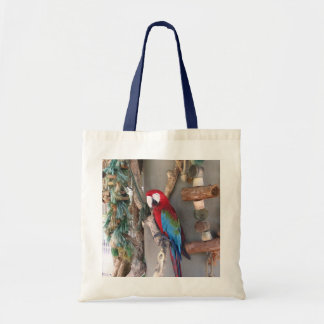 Colorful Carribean Parrot Bag