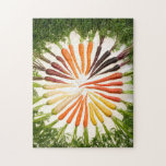 Colorful Carrots In A Circle Puzzles