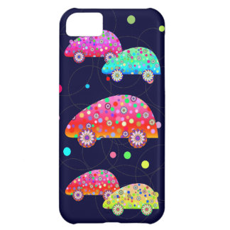 Colorful Cars Case For iPhone 5C