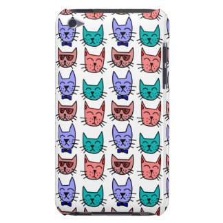 Colorful Cartoon Cats iPod Touch Case-Mate Case