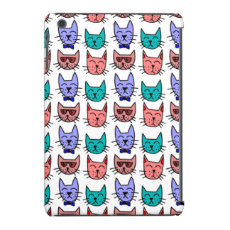 Colorful Cartoon Cats iPad Mini Retina Case