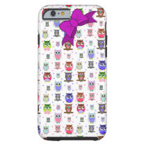 Colorful Cartoon Owl iPhone 6 case