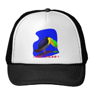 Colorful cartoon Toucan Trucker Hat