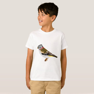Colorful cartoon yellow and brown sparrow T-Shirt