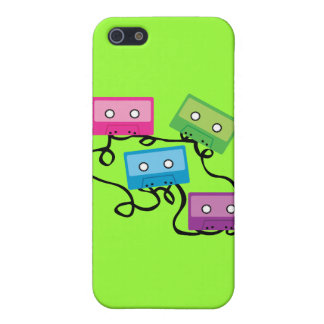Colorful Cassette Tapes Cover For iPhone SE/5/5s