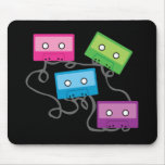 Colorful Cassette Tapes Mouse Pad