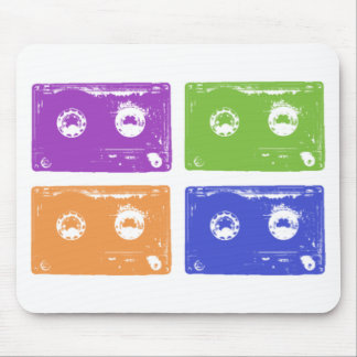 Colorful cassettes! mouse pad