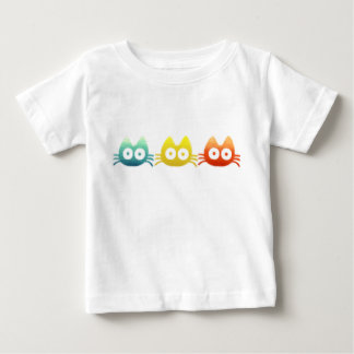 Colorful Cat Baby T-Shirt