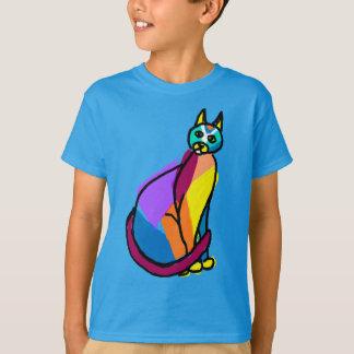 Colorful Cat Hero T-Shirt