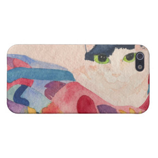 Colorful cat iPhone case iPhone 5/5S Cases