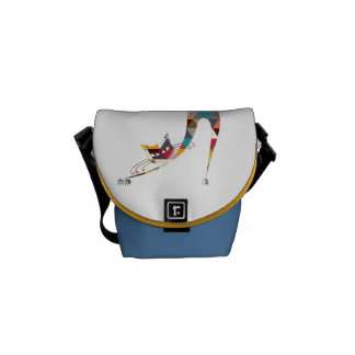 COLORFUL  CAT COURIER BAG