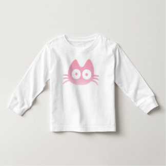 Colorful Cat (Pink) Toddler T-shirt