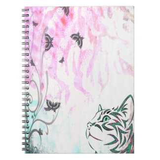 Colorful Cat Spiral Notebook