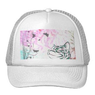 Colorful Cat Trucker Hat