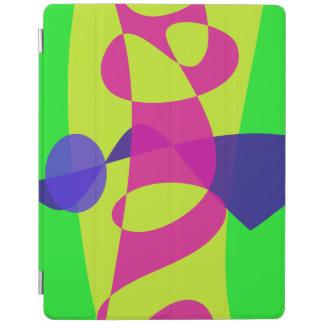 Colorful Caterpillar iPad Cover