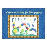 Colorful Caterpillar Invitation