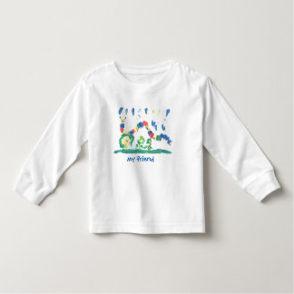 Colorful Caterpillar Toddler T-shirt
