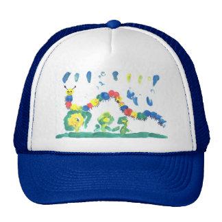 Colorful Caterpillar Trucker Hat