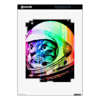 colorful cats - Cat astronaut - space cat Decals For The iPad 2