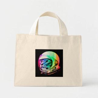 colorful cats - Cat astronaut - space cat Mini Tote Bag
