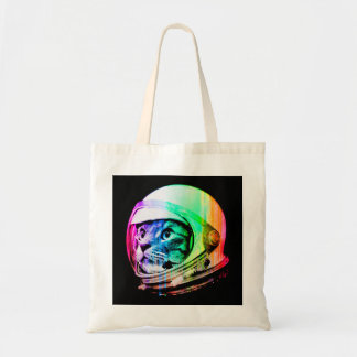 colorful cats - Cat astronaut - space cat Tote Bag