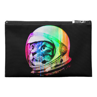 colorful cats - Cat astronaut - space cat Travel Accessory Bag