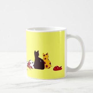 Colorful Cats Mug