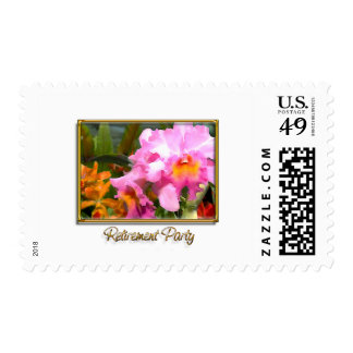 Colorful Cattleyas Retirement Postage