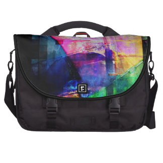 Colorful CD Cases Collage Commuter Bag